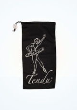 Tendu Pointe Shoe Bag Black Pointe Shoe Accessories [Black]