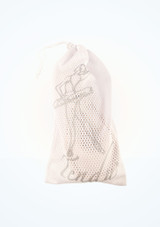 Tendu Pointe Shoe Bag White Pointe Shoe Accessories [White]