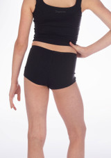 Repetto Zizi Girls Dance Shorts Black #3. [Black]