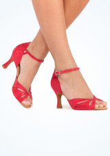 """Rummos Opal  Dance Shoe 2.75 Red #2. [Red]"""""""