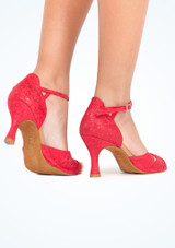 """Rummos Opal  Dance Shoe 2.75 Red #3. [Red]"""""""
