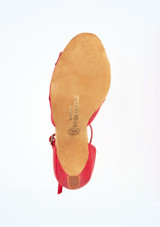 """Rummos Opal  Dance Shoe 2.75 Red #5. [Red]"""""""