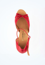 """Rummos Opal  Dance Shoe 2.75 Red #4. [Red]"""""""