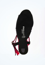 Rummos Passion Dance Shoe 3 Black* Red #3. [Black-Red]""