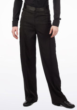 Move Gabriel Men's Ballroom Trousers Black. [Black]