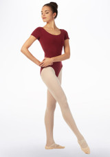 Move Bibi Leotard NEW Red front. [Red]