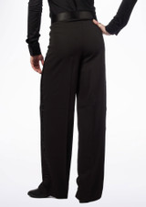 Move Andre Men's Latin Trousers Black #3. [Black]
