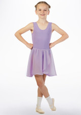 Move Heidi Pull-On Dance Skirt Purple front. [Purple]