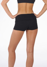 Move Sasha Rolltop Dance Shorts Black #2. [Black]