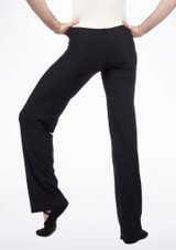Move Men's Jazz Pants Black front #2. [Black]