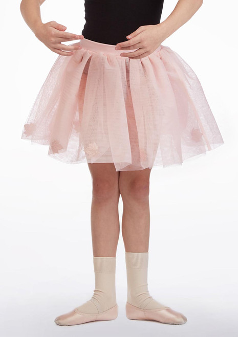 Mirella Girls Maple Tutu Skirt* Pink front. [Pink]