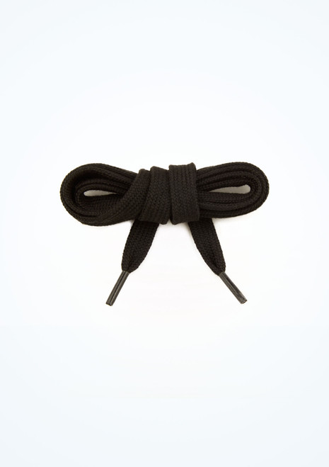 Tappers & Pointers Tap Shoe Laces Black main image. [Black]