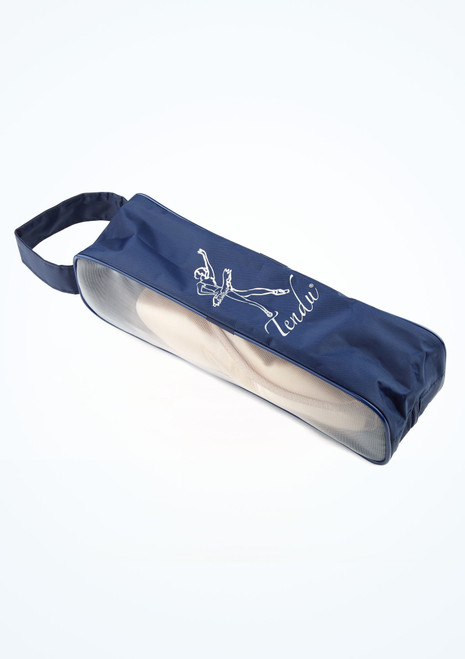 Tendu Breathable Pointe Shoe Bag Blue side. [Blue]