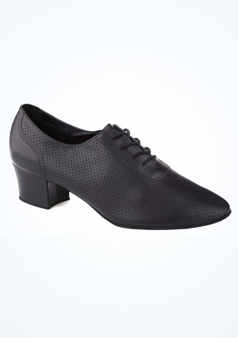 So Danca Lace Up Practice Shoe 1.5 Black main image. [Black]""