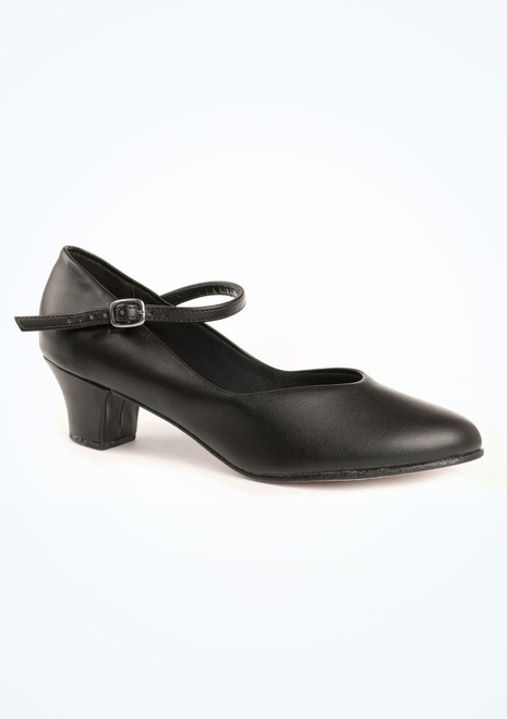 So Danca Character Shoe 1.5  Black. [Black]""