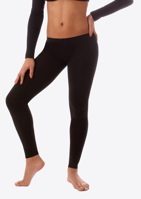Bloch Footless Leggings Black. [Black]