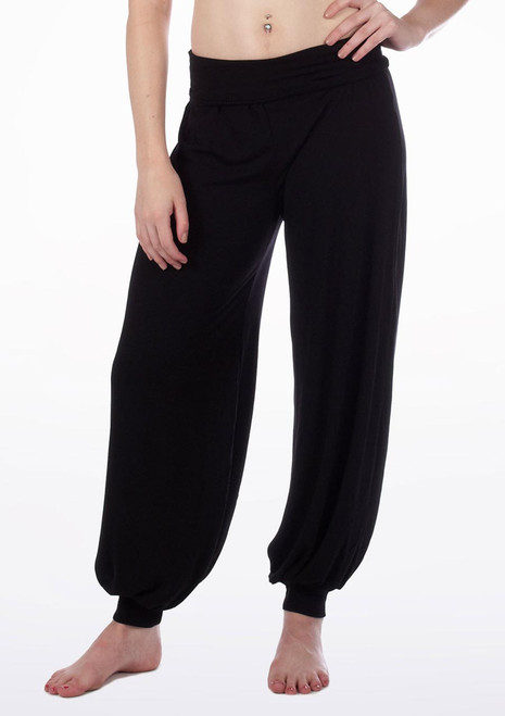 Bloch Genie Movement Pants Black. [Black]