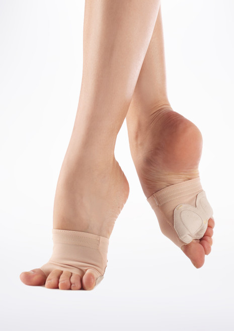 Bloch Foot Wrap II Tan. [Tan]
