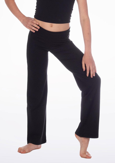 Repetto Girls Jazz Pants Black. [Black]