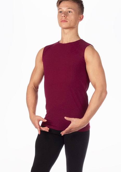Intermezzo Camnoi Mens Dance Top Red. [Red]