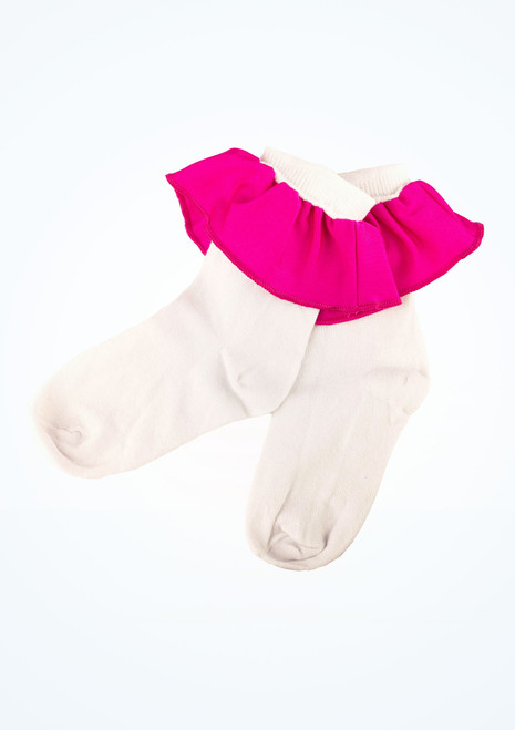 Girls Juvenile Ballroom Socks [Pink]
