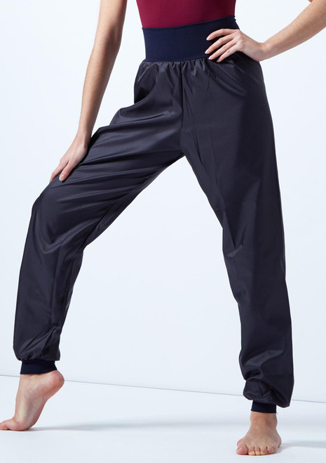 Intermezzo Panadelcin Warm Up Pants Blue front. [Blue]