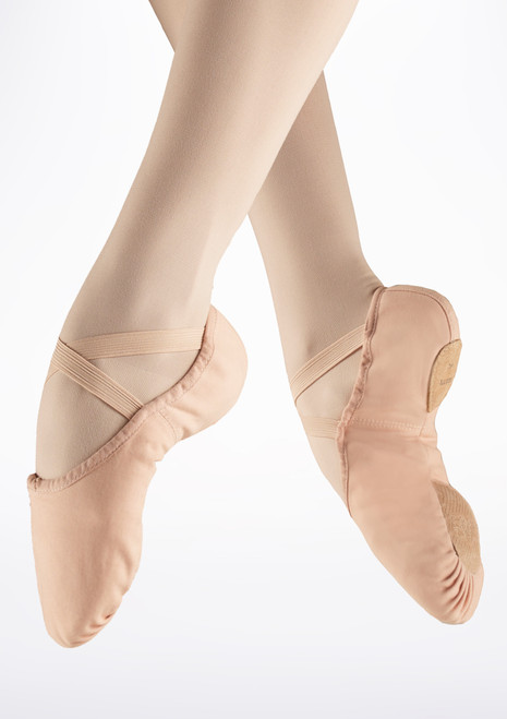Bloch S0277L Split Sole Canvas Ballet Shoe Pink. [Pink]