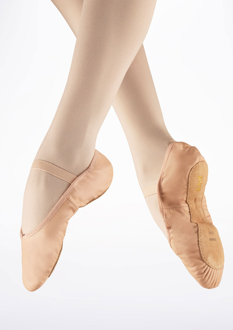 Bloch Arise S0209L Full Sole Ballet Shoe Pink main image. [Pink]