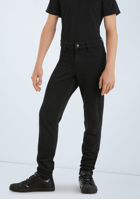 Boys Jeggings [Black]T