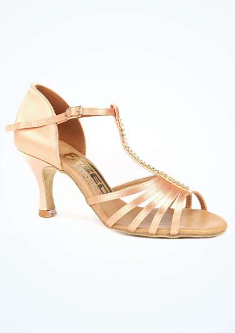 Freed Tina Flesh  Dance Shoe 2.5 Tan. [Tan]""