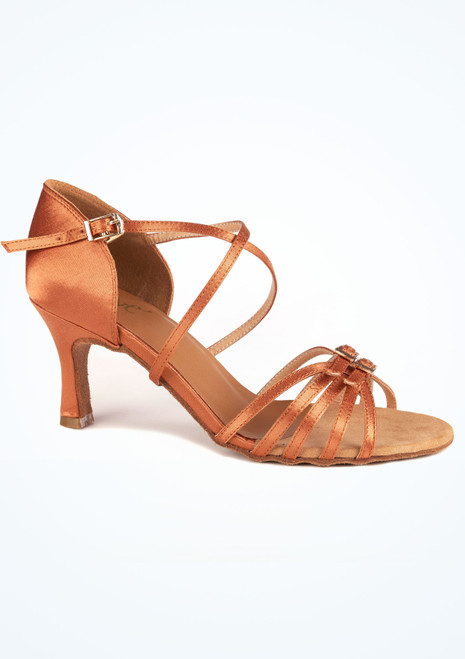 Move Clara Dance Shoe 2.5 Tan. [Tan]""
