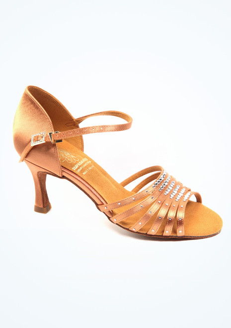 Supadance Lila  Dance Shoe 2.5 Tan. [Tan]""