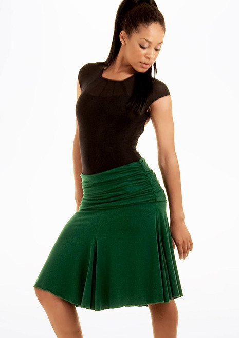 Move Selena Ballroom Skirt Green. [Green]