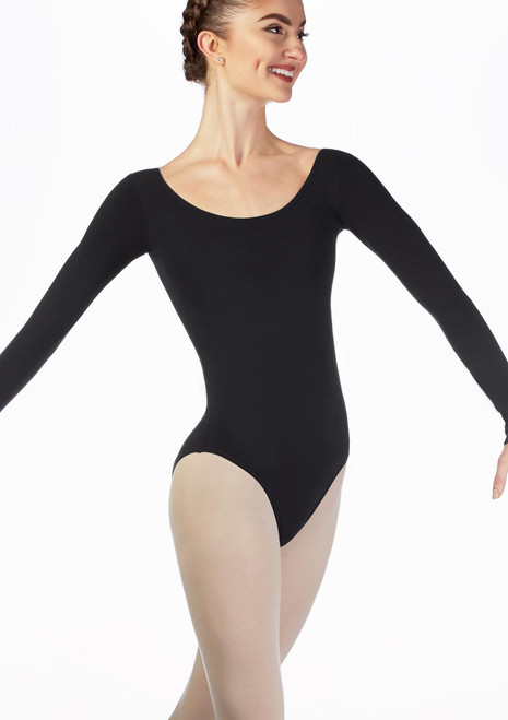Move Caprice Leotard NEW Black front. [Black]