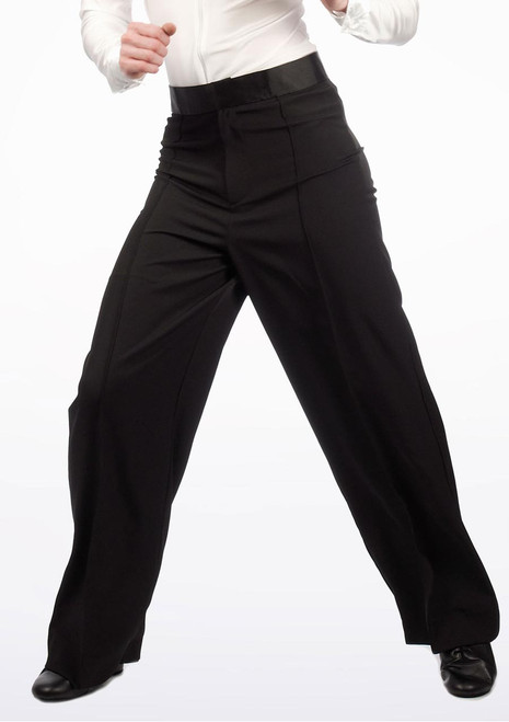 Move Andre Men's Latin Trousers Black. [Black]