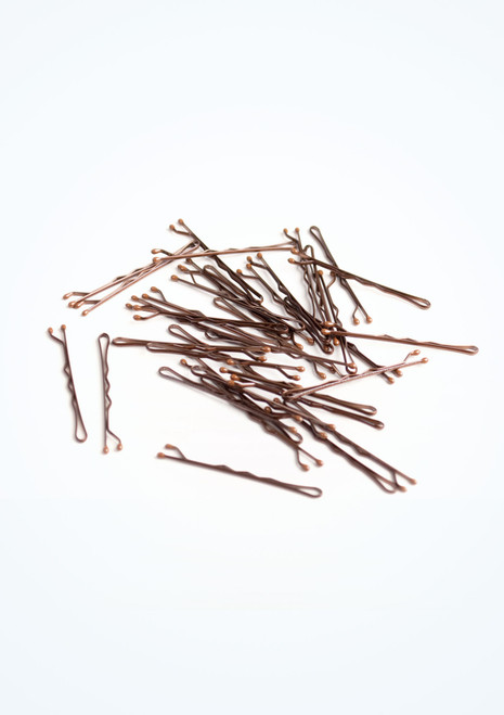 Tappers & Pointers Hair Grips Brown. [Brown]