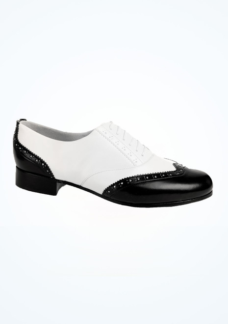 Bloch Charleston Tap Shoe Black-White main image. [Black-White]