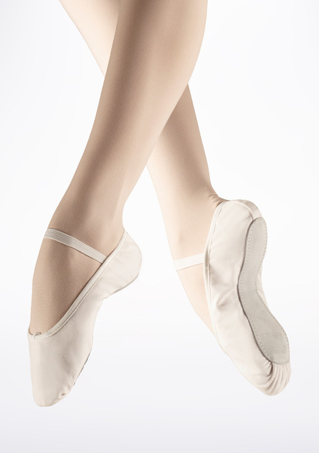 So Danca Full Sole Canvas Ballet Shoe White. [White]