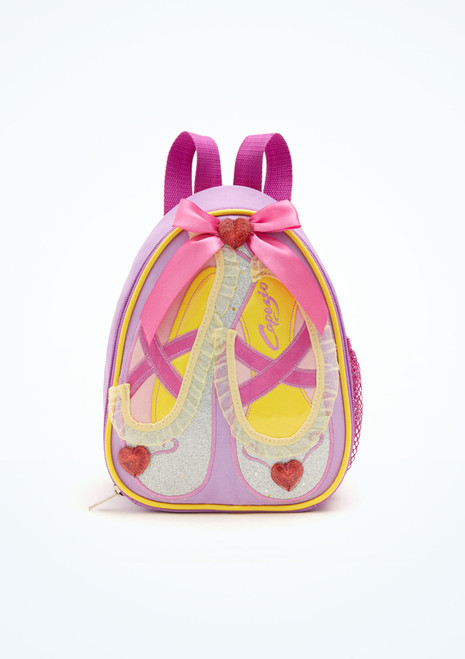 Capezio Ballet Shoes Backpack Pink [Pink]