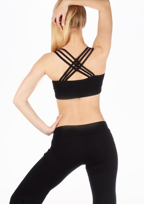 Move Lola Bra Top Black. [Black]