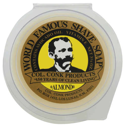 Delivers just a hint of mild amaretto scent, with all the rich, thick lather you've come to trust in all of our shave soaps.