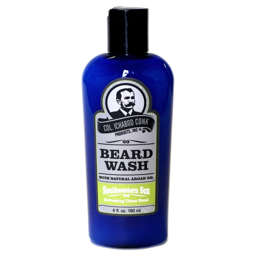 Combines special shampoo, conditioner, aloe and Argan oil designed especially for facial hair. #1352 Moisturises as it cleanses, not only preserving natural oils but neutralising any stray or lingering odours facial hair may have picked up.