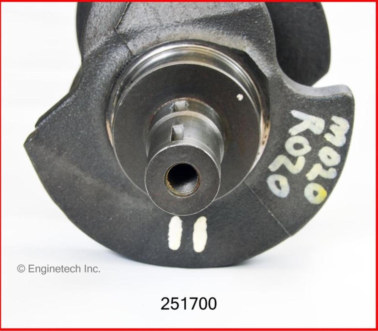 1986 American Motors Eagle 4.2L Engine Crankshaft Kit 251700 -205