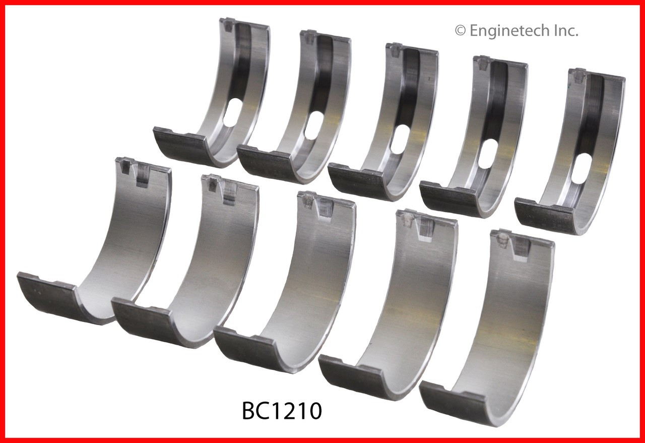 Engine Crankshaft Main Bearing Set - Kit Part - BC1210