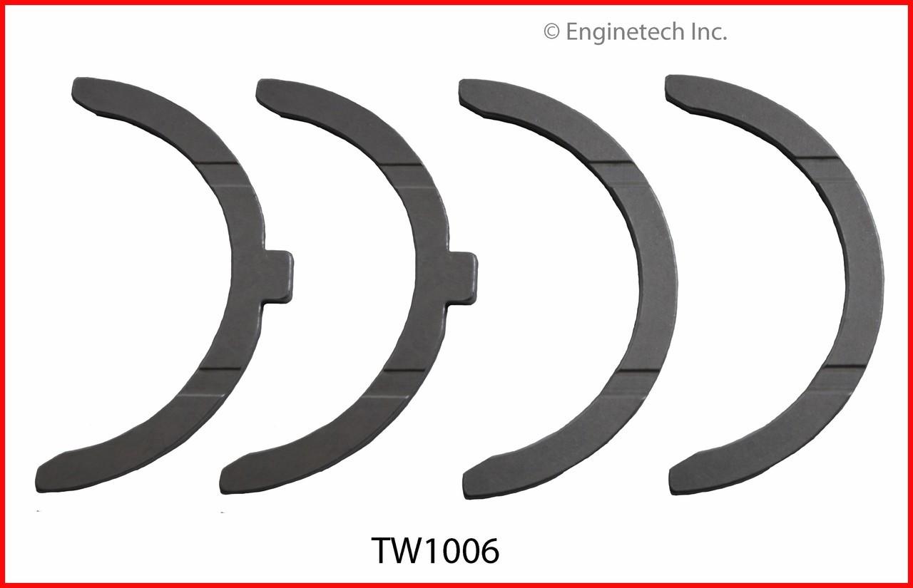 Engine Crankshaft Thrust Washer - Kit Part - TW1006