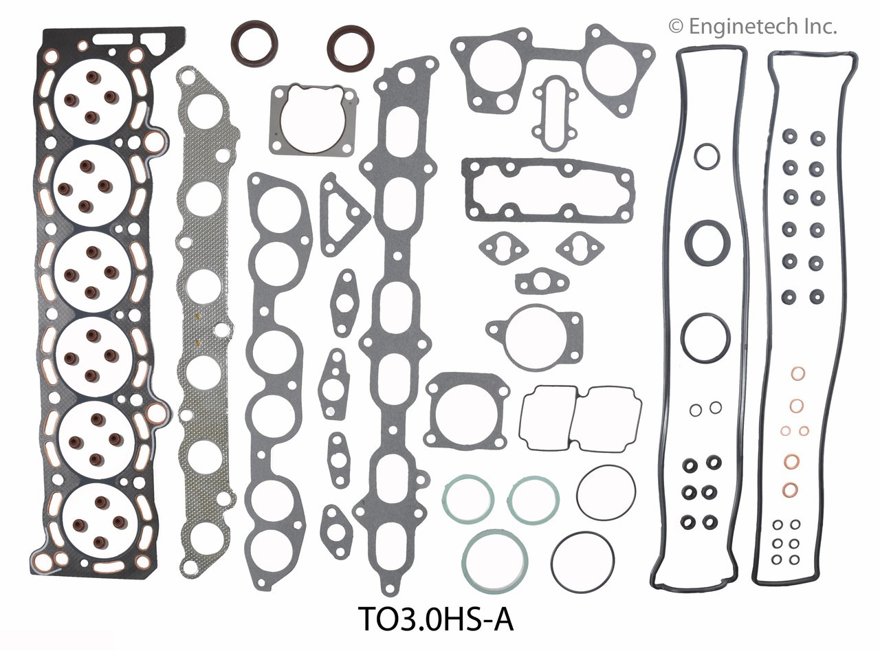 Engine Cylinder Head Gasket Set - Kit Part - TO3.0HS-A