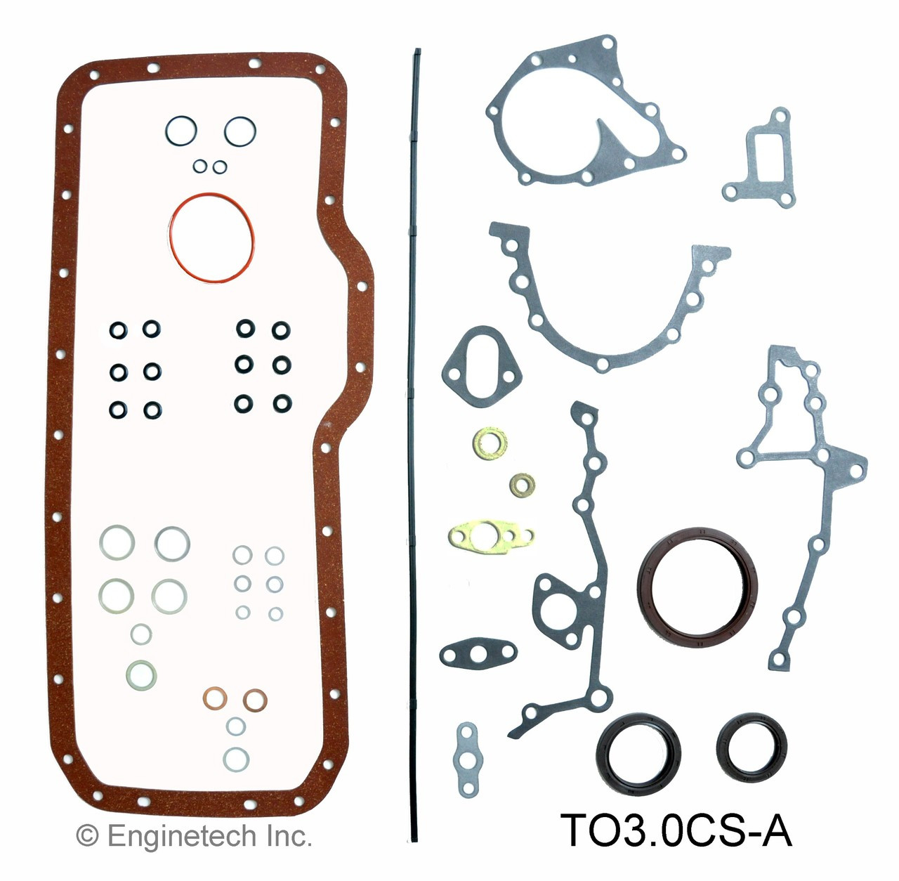 Engine Conversion Gasket Set - Kit Part - TO3.0CS-A