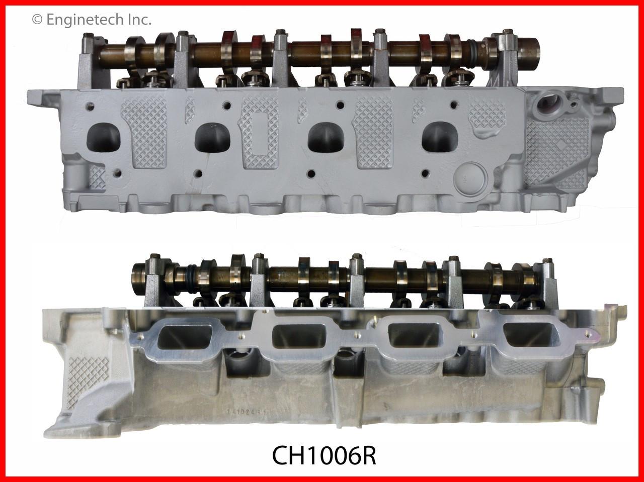 Cylinder Head Assembly - 2007 Mitsubishi Raider 4.7L (CH1006R.E44)