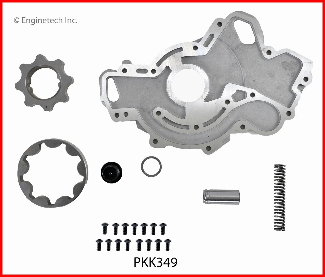 Oil Pump Repair Kit 2012 Gmc Terrain 2 4l Pkk349 K135