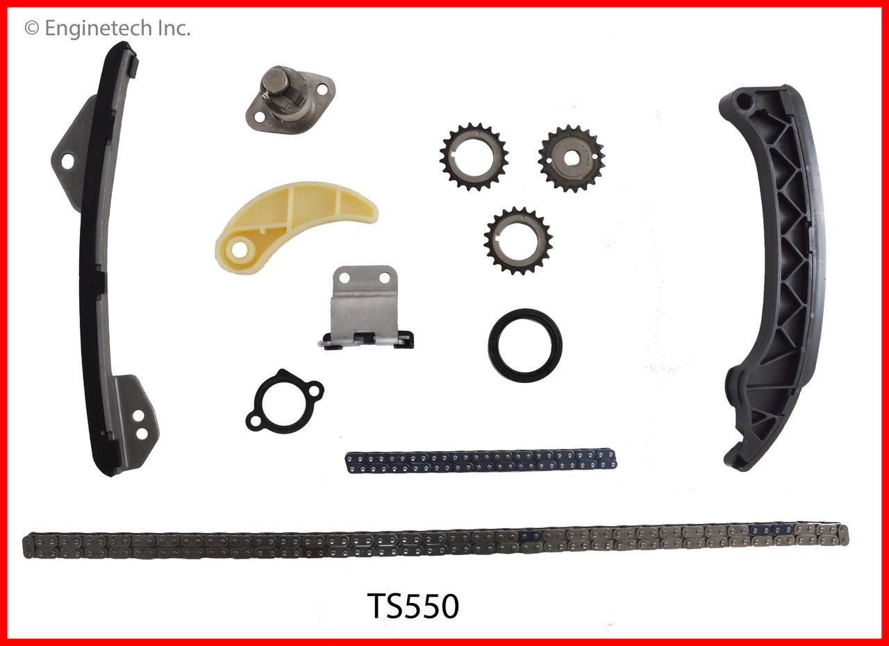 2013 Toyota Corolla 1 8L Engine Timing Set TS550 -6